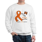 Leukemia Ribbon Sister-in-Law Sweatshirt