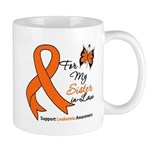 Leukemia Ribbon Sister-in-Law Mug
