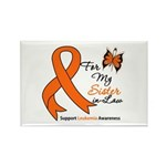 Leukemia Ribbon Sister-in-Law Rectangle Magnet (10