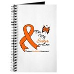 Leukemia Ribbon Sister-in-Law Journal