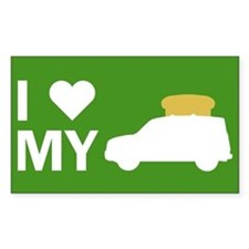 Element Lovers: I Heart My Toaster Decal