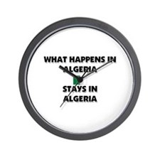 What Happens In ALGERIA Stays There Wall Clock