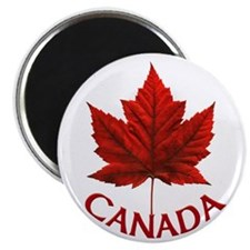 Canada Souvenir Maple Leaf Magnet