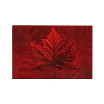 Canadian Maple Leaf Fridge Magnet Souvenir