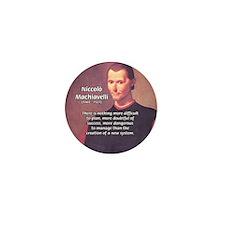 Political Theory: Machiavelli Mini Button (100 pac