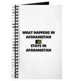 What Happens In AFGHANISTAN Stays There Journal