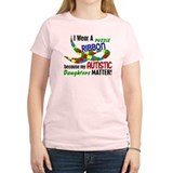 I Wear Puzzle Ribbon Daughters 33 T-Shirt
