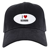 I LOVE ALEXANDRA Baseball Cap
