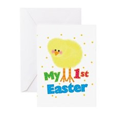 My 1st Easter Chick Greeting Cards (Pk of 20)