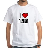 I LOVE ALEENA Shirt