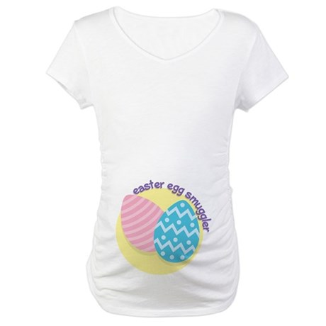 Easter Egg Smuggler Maternity T-Shirt