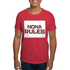 nona rules T-Shirt