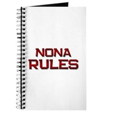 nona rules Journal