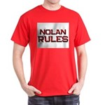 nolan rules Dark T-Shirt