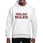 nolan rules Hooded Sweatshirt