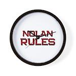 nolan rules Wall Clock