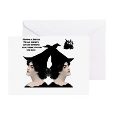 Unique Witchcraft Greeting Cards (Pk of 20)
