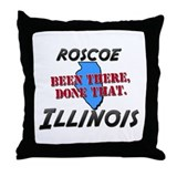 roscoe illinois - been there, done that Throw Pill