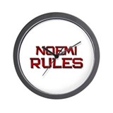 noemi rules Wall Clock