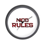 nico rules Wall Clock