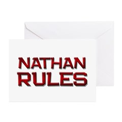 nathan rules Greeting Cards (Pk of 10)