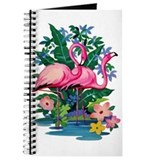 """Retro Flamingo"" Journal"