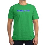 Daddy To Be Men's Fitted T-Shirt (dark)