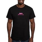 Due In Janury Men's Fitted T-Shirt (dark)
