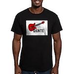 Guitar - Dante Men's Fitted T-Shirt (dark)