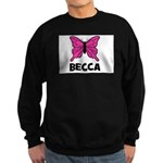 Butterfly - Becca Sweatshirt (dark)