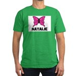Butterfly - Natalie Men's Fitted T-Shirt (dark)