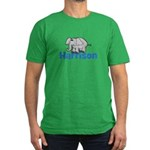 Elephant - Harrison Men's Fitted T-Shirt (dark)