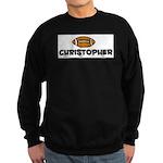 Christopher - Football Sweatshirt (dark)