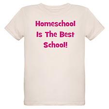 Homeschool Is The Best School T-Shirt