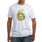 Dont Tread Snake Yellow Shirt