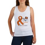 Leukemia Ribbon Husband Women's Tank Top
