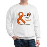 Leukemia Ribbon Husband Sweatshirt