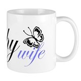 Butterfly Trophy Wife Mug