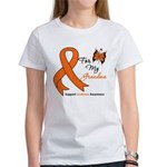 Leukemia Ribbon Grandma Women's T-Shirt