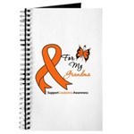 Leukemia Ribbon Grandma Journal