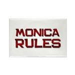 monica rules Rectangle Magnet (10 pack)