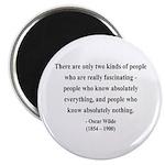 Oscar Wilde 22 Magnet