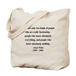 Oscar Wilde 22 Tote Bag
