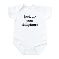 Lock Up Your Daughters Onesie