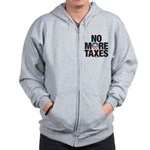 No More Taxes Zip Hoodie