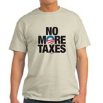No More Taxes Light T-Shirt