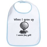 Grow Up Golf Bib