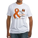 Leukemia Daughter-in-Law Fitted T-Shirt