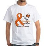 Leukemia Daughter-in-Law White T-Shirt
