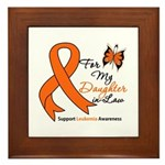 Leukemia Daughter-in-Law Framed Tile